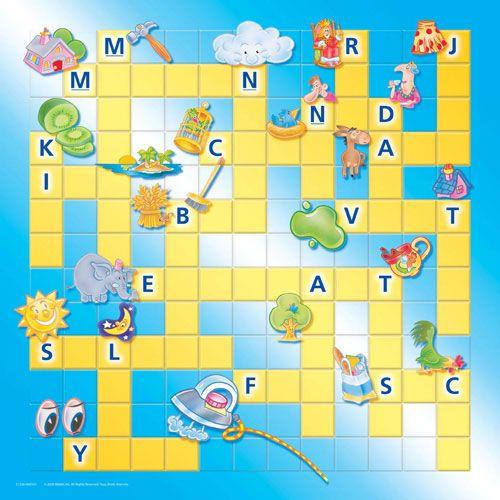 Méga quiz Scrabble junior 100 cartes et un plateau  Boites et Accessoires