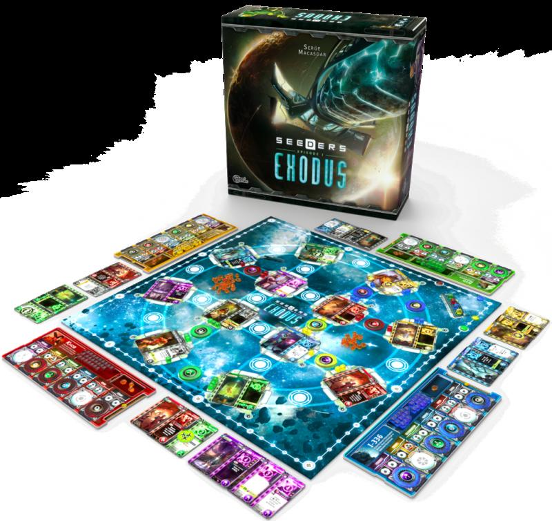 Seeders, Episode 1: Exodus