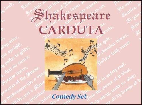 Shakespeare Carduta Comedy set