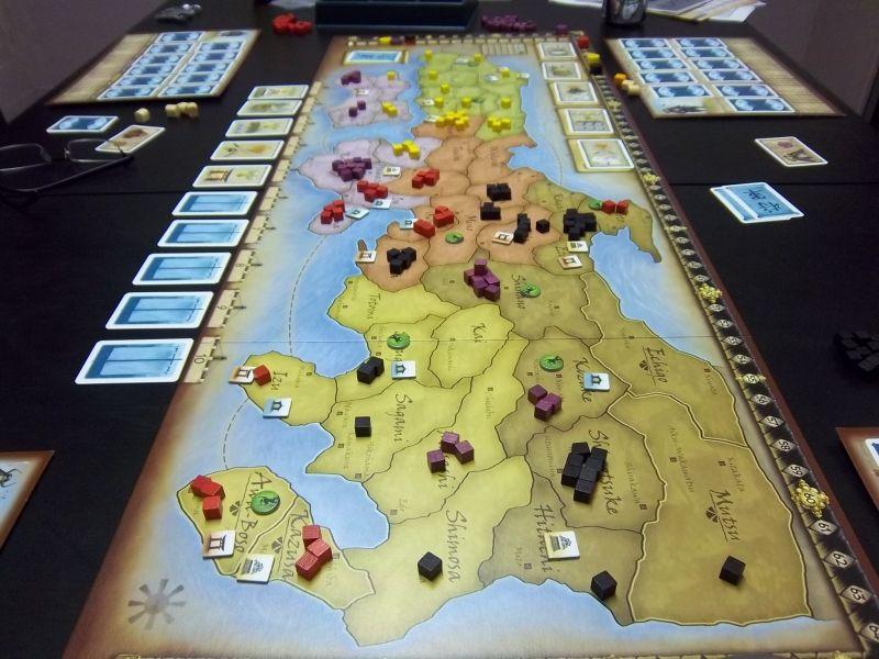 Le champ de bataille du Nord, bien plus disputé que celui du Sud !