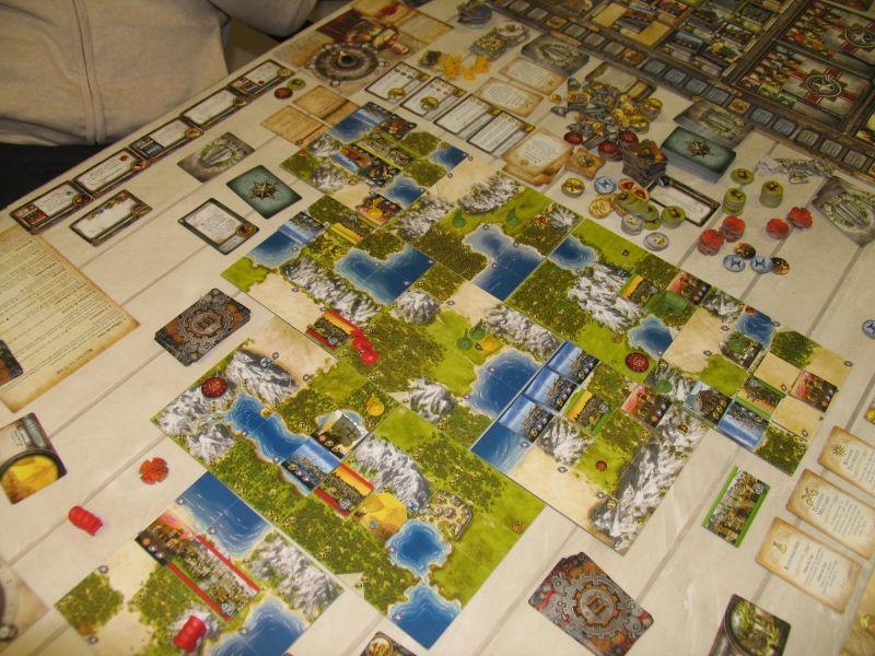 Une partie de Sid Meier's Civilization - Le jeu de plateau