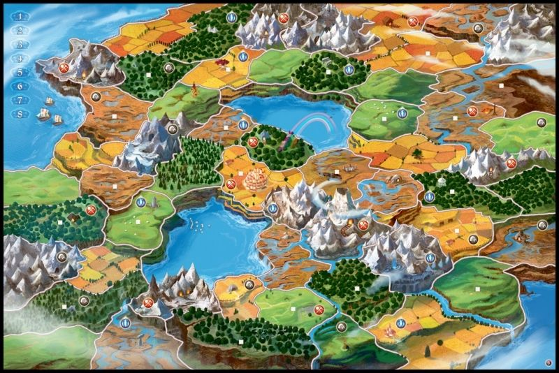 Small World: Plateau 6 joueurs