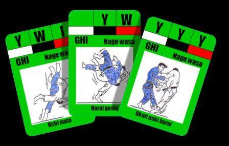 tour judo jeu sol main