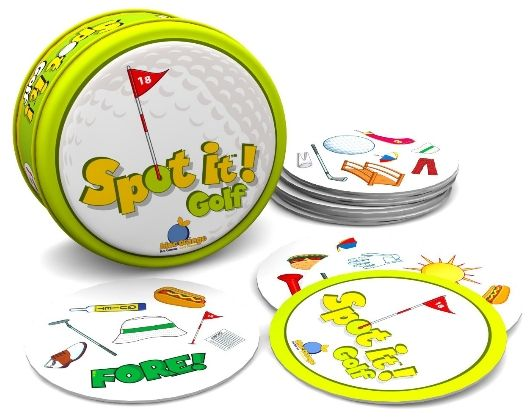 Spot It Golf Card Game
