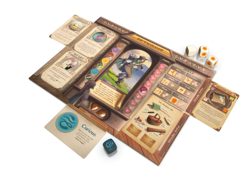 Storm Hollow : A Storyboard Game