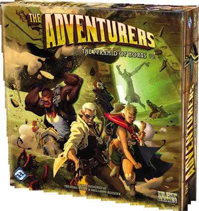 The Adventurers: The Pyramid of Horus