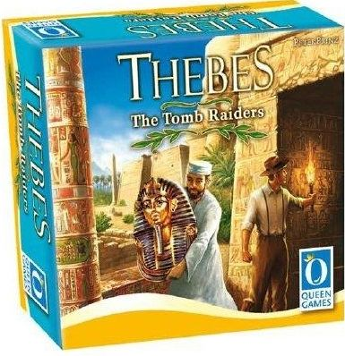 Thebes : the card game - the tomb raiders