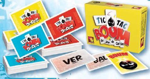 Asmodée  Asmodee  Tic Tac Boum Jeu de Cartes  pas cher Achat / Vente Jeux