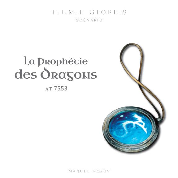 Time stories : La Prophétie des dragons