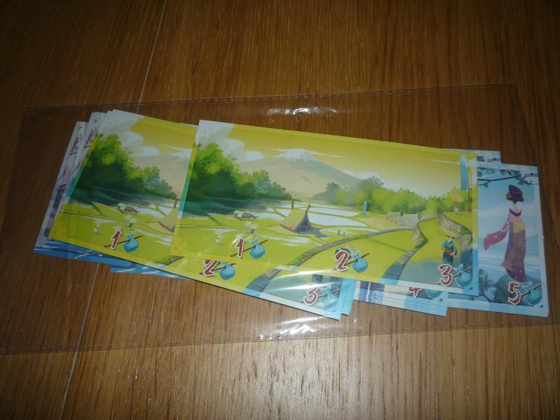 Les cartons paysages