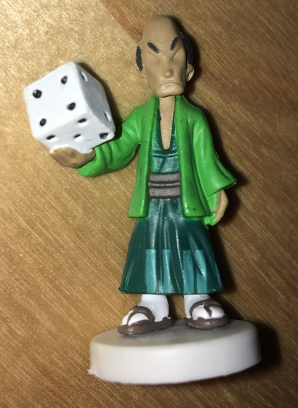 Figurine présente dans la boite reçue