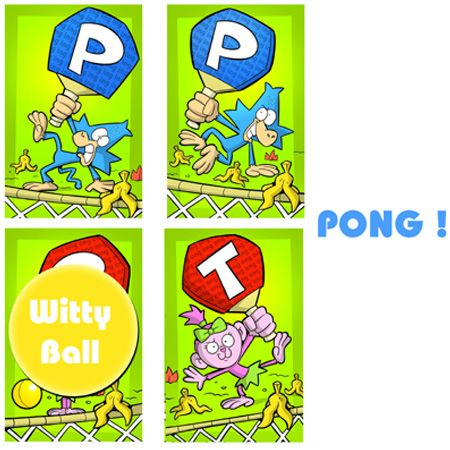 Witty pong