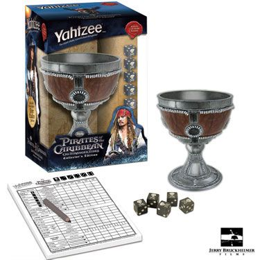 YAHTZEE: Pirates of the Caribbean On Stranger Tide