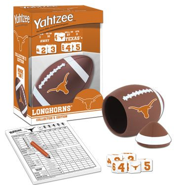 YAHTZEE: University of Texas