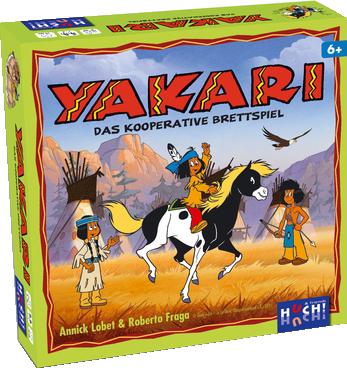 Yakari - Das kooperative Brettspiel