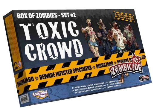 Zombicide :Toxic Crowd