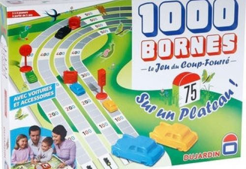 1000 Bornes plateau