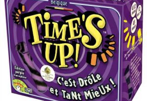 Time's Up ! Edition purple
