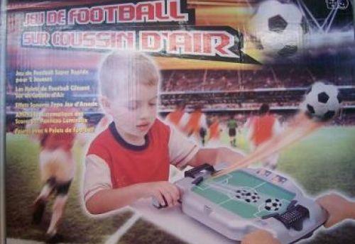 Jeu de Football sur coussin d'air