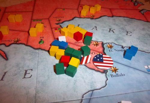 Nous avions pris Fort Erie et Queenston (2 points de victoire), mais comme vous pouvez le deviner, on va pas les garder très longtemps...