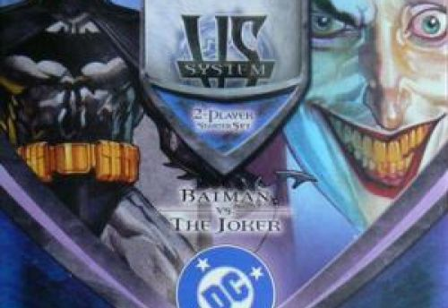 Vs System - Starter Deck : DC Batman vs The Joker