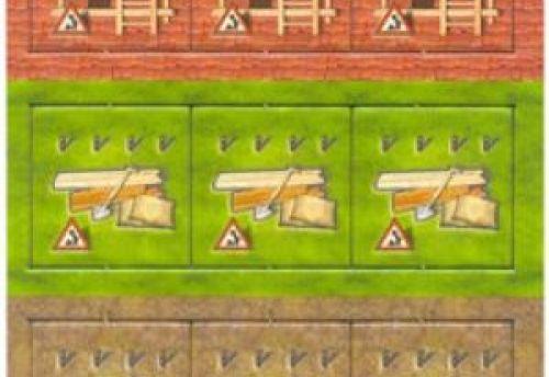 Zooloretto : 9 Tuiles de Constructions