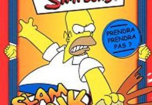 The Simpsons Slam Dunk  card game