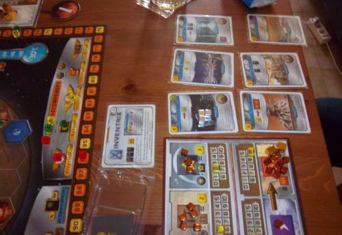 Les cartes bleues collectées par Inventrix....