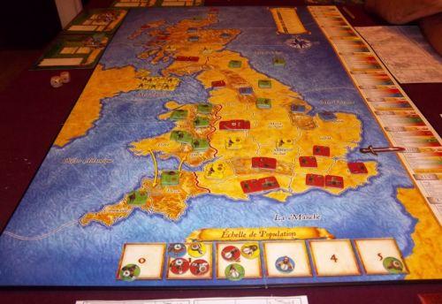 XIIIième tour, la fin approche et les saxons s'accrochent...mais les Normands vont pas tarder.