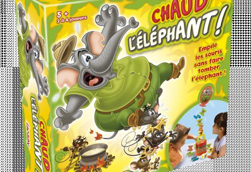 Chaud l'éléphant