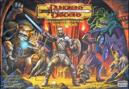 Dungeons&Dragons : The Fantasy Adventure Boardgame