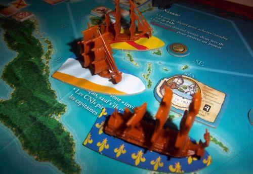 Un endroit que les pirates évitaient soigneusement...