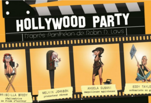 Hollywood party