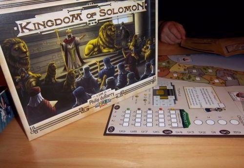 Kingdom of Salomon...le royaume d'un roi qui avait paraît-il le sens du jugement équitable, en tranchant dans le vif...