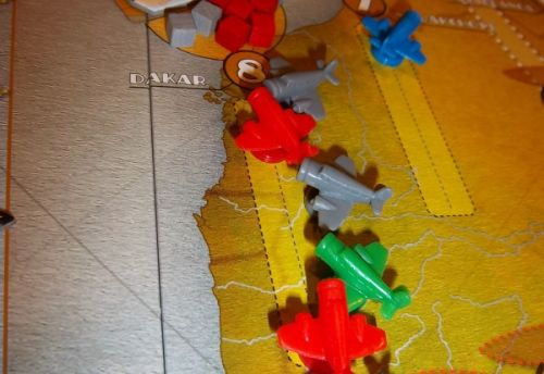 Grosse bousculade à Dakar, surtout en début de partie...