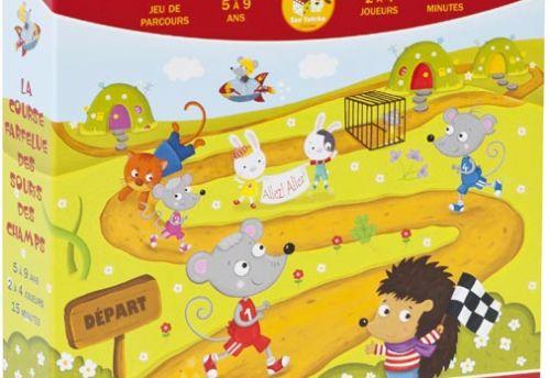La course farfelue des souris des champs