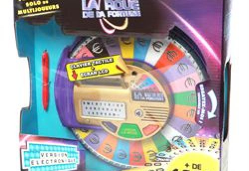 La roue de la fortune électronique