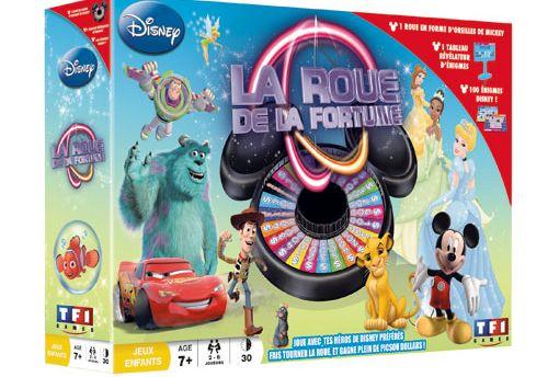 La roue de la fortune Disney