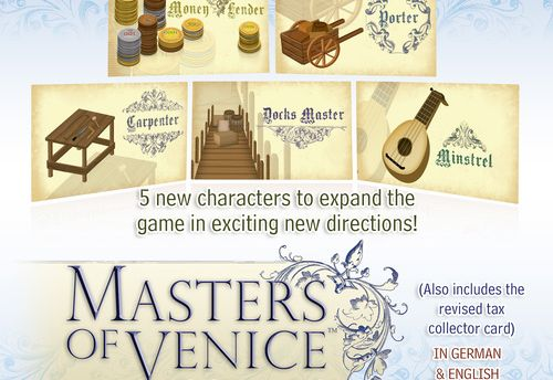 Masters of Venice - Mini expansion set