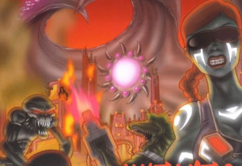 Mécanisburgo - expansion II  Mutants on Mars