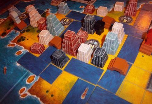 Mexica, c'est aussi une histoire d'urbanisme sauvage où tous les coups sont permis...