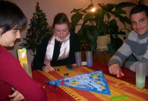 Mes trois adversaires qui débutent 2008 avec ce jeu...