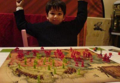 Un control quasi total des forces du mal, Tristan gagne
