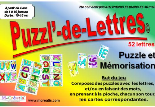 Puzzl' de Lettres