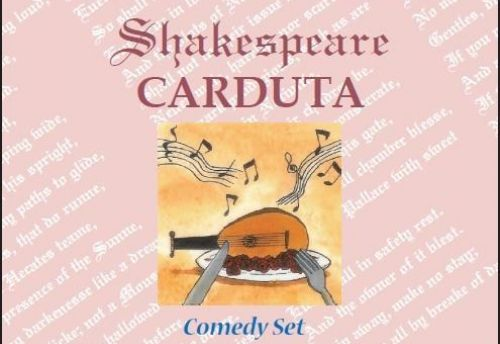 Shakespeare Carduta Comedy set