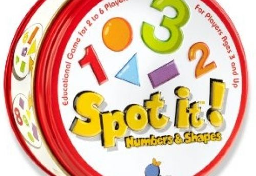Spot It! Numbers and Shapes