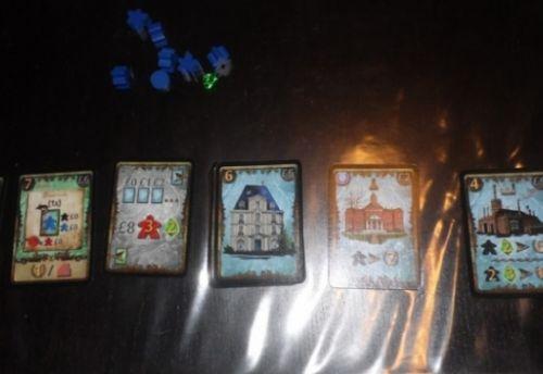Cartes de fin du troisième et dernier