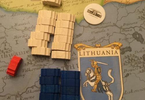 Avantage pour les Lubomirski (blancs) en Lithuanie
