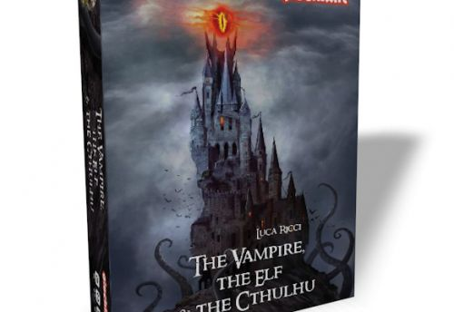The vampire The Elfe and Chtulu