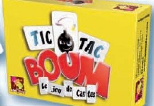 Tic Tac boum - le jeu de cartes